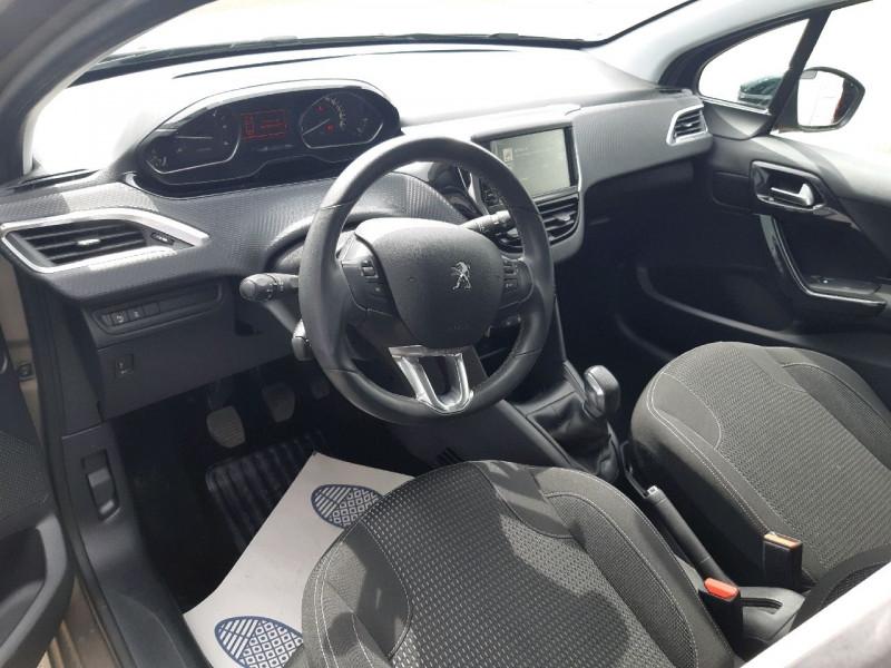 Photo 6 de l'offre de PEUGEOT 208 1.6 BLUEHDI 100CH ALLURE 5P à 10790€ chez Carlyss automobiles Vitré