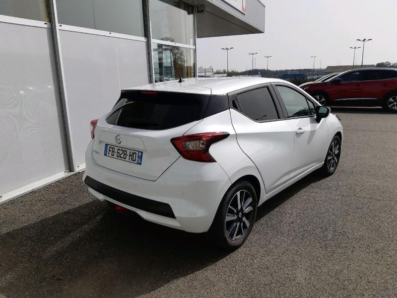 Photo 3 de l'offre de NISSAN MICRA 0.9 IG-T 90CH N-CONNECTA 2018 EURO6C à 10990€ chez Carlyss automobiles Vitré