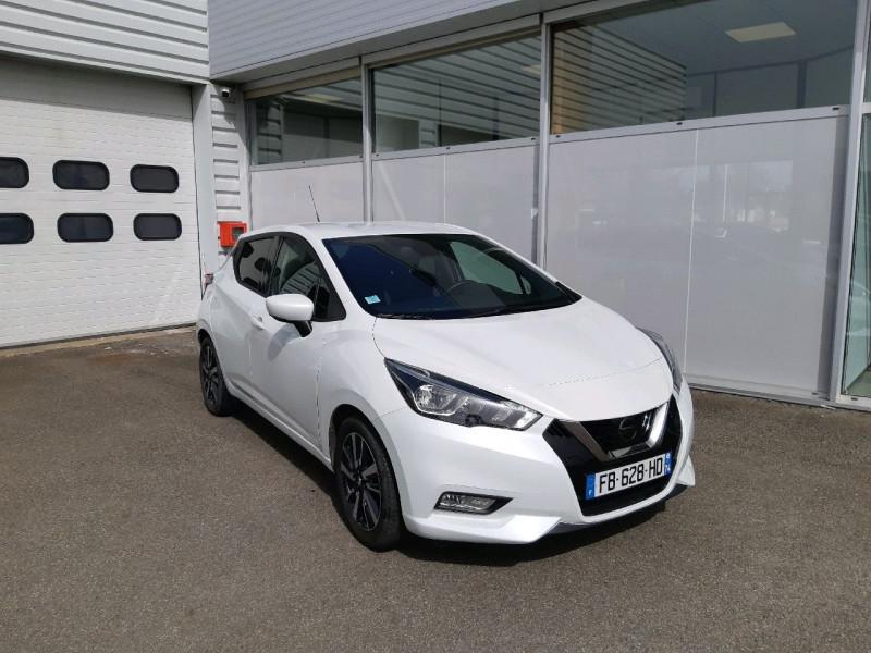 Nissan MICRA 0.9 IG-T 90CH N-CONNECTA 2018 EURO6C Essence BLANC Occasion à vendre