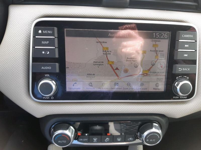 Photo 9 de l'offre de NISSAN MICRA 0.9 IG-T 90CH N-CONNECTA 2018 EURO6C à 10990€ chez Carlyss automobiles Vitré