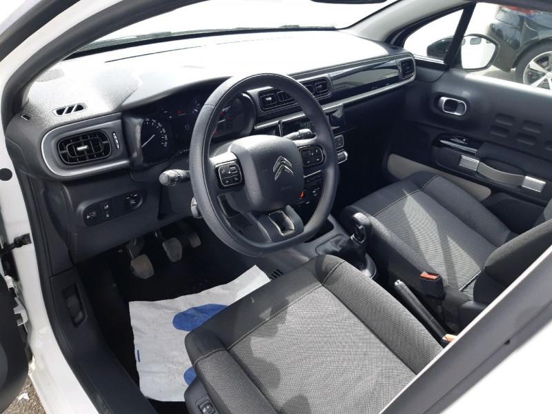 Photo 6 de l'offre de CITROEN C3 BLUEHDI 75CH FEEL S&S à 7990€ chez Carlyss automobiles Vitré