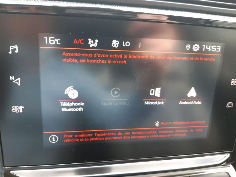 Photo 11 de l'offre de CITROEN C3 PURETECH 110CH ELLE S&S EAT6 E6.D-TEMP 114G à 15490€ chez Carlyss automobiles Vitré