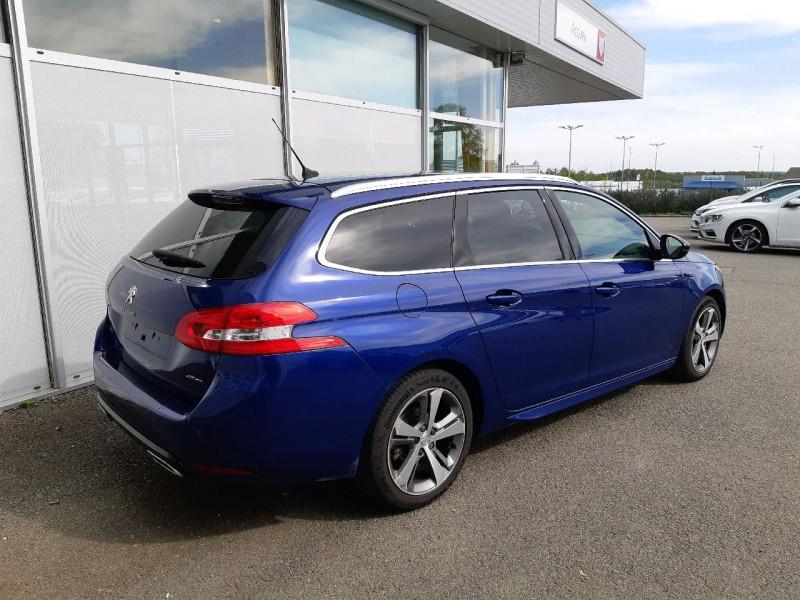 Photo 3 de l'offre de PEUGEOT 308 SW 2.0 BLUEHDI 150CH GT LINE S&S à 10790€ chez Carlyss automobiles Vitré