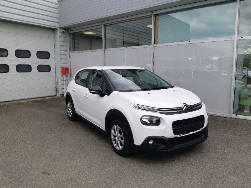 Citroen C3 PURETECH 82CH FEEL Essence BLANC Occasion à vendre