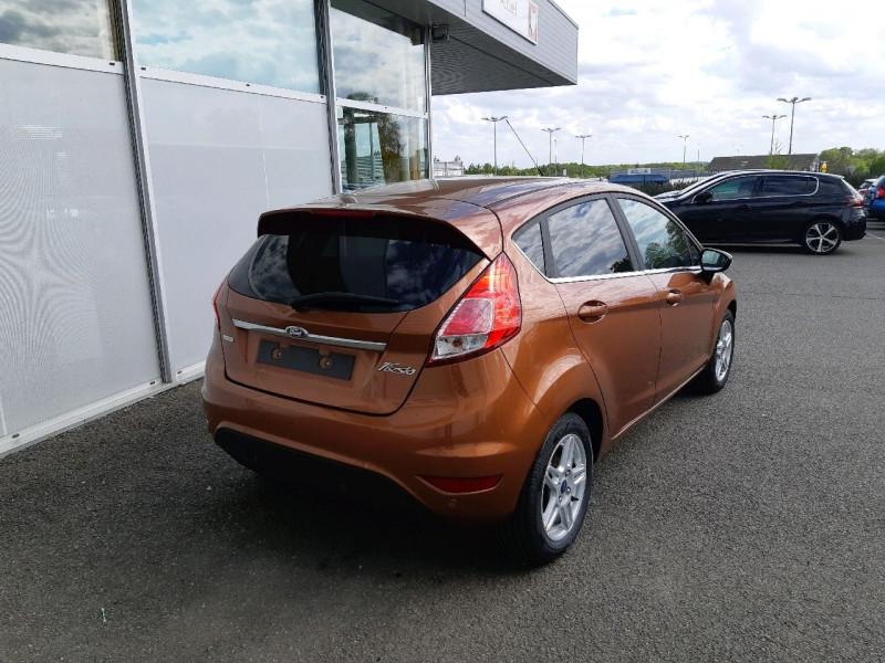 Photo 3 de l'offre de FORD FIESTA 1.0 ECOBOOST 100CH STOP&START TITANIUM 5P à 7290€ chez Carlyss automobiles Vitré