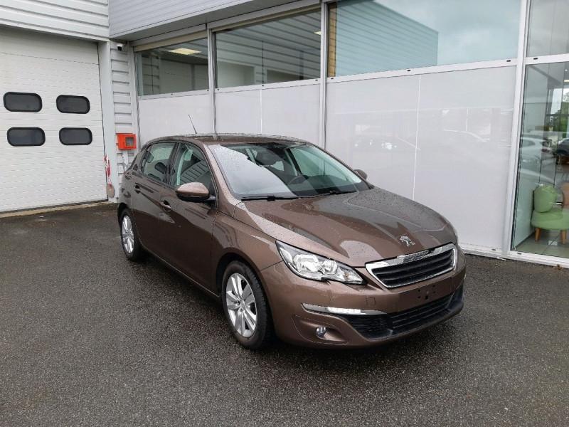Peugeot 308 1.6 E-HDI FAP 115CH BUSINESS PACK 5P Diesel BRUN   Occasion à vendre