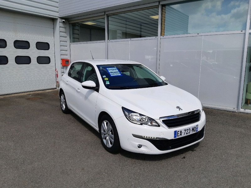 Peugeot 308 1.6 BLUEHDI 100CH ACTIVE BUSINESS S&S 5P Diesel BLANC Occasion à vendre