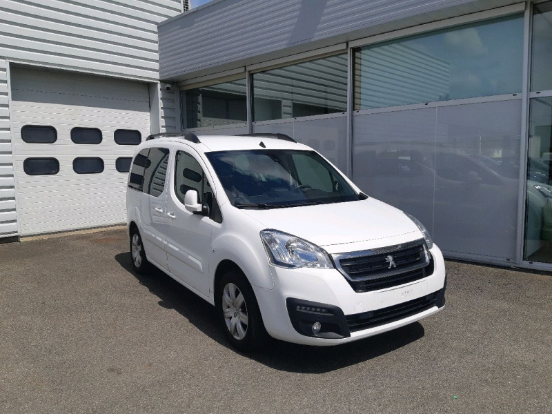 Peugeot PARTNER TEPEE 1.6 BLUEHDI 120CH OUTDOOR S&S Diesel BLANC Occasion à vendre
