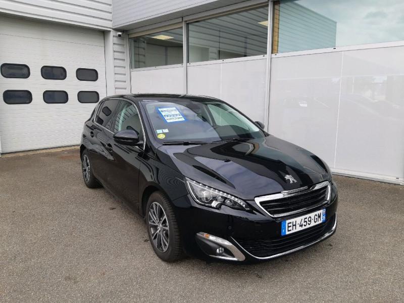 Peugeot 308 1.6 BLUEHDI 120CH ALLURE S&S EAT6 5P Diesel NOIRE Occasion à vendre