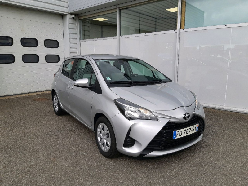 Toyota YARIS 70 VVT-I FRANCE 5P MY19 Essence GRIS C Occasion à vendre
