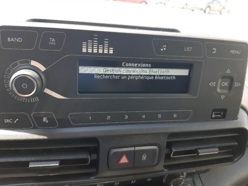 Photo 10 de l'offre de CITROEN BERLINGO M 1.6 BLUEHDI 100 CLUB à 13490€ chez Carlyss automobiles Vitré