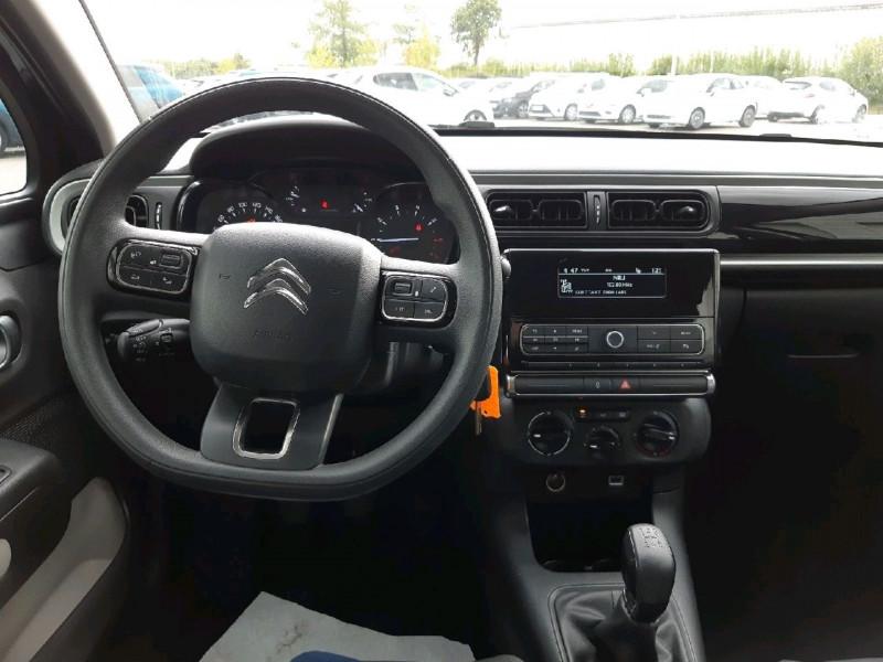 Photo 4 de l'offre de CITROEN C3 PURETECH 68CH FEEL à 10490€ chez Carlyss automobiles Vitré