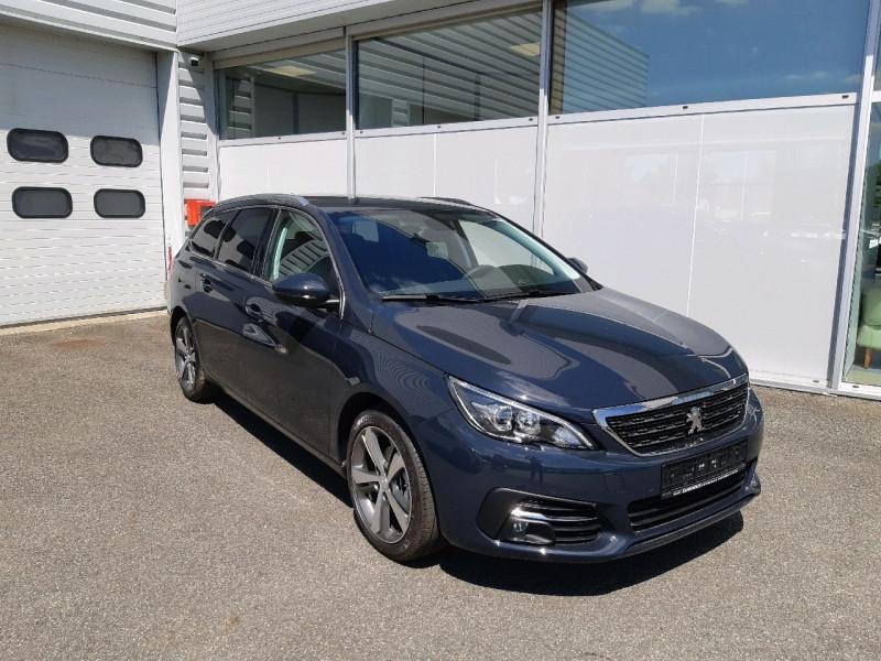 Peugeot 308 SW 1.5 BLUEHDI 130CH S&S ALLURE Diesel GRIS HURRICANE Occasion à vendre