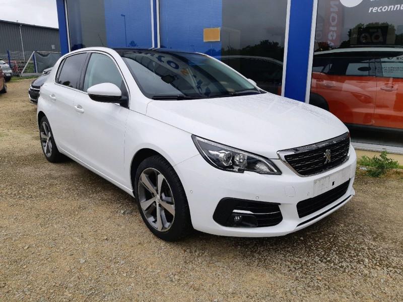 Peugeot 308 1.5 BLUEHDI 130CH S&S ALLURE Diesel BLANC Occasion à vendre