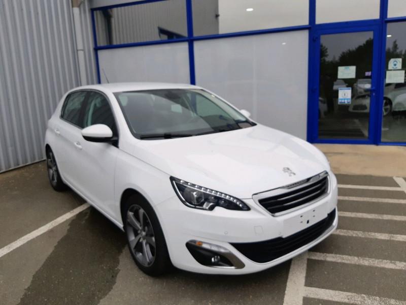 Peugeot 308 2.0 BLUEHDI 150CH ALLURE S&S 5P Diesel BLANC  Occasion à vendre
