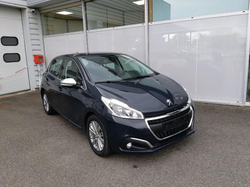 Peugeot 208 1.2 PURETECH 110CH ALLURE S&S 5P Essence GRIS HURRICANE Occasion à vendre
