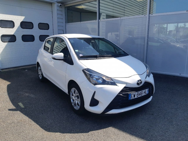 Photo 1 de l'offre de TOYOTA YARIS 69 VVT-I FRANCE 5P à 9990€ chez Carlyss automobiles Vitré