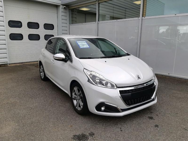 Peugeot 208 1.6 BLUEHDI 120CH ALLURE S&S 5P Diesel BLANC NACRE Occasion à vendre