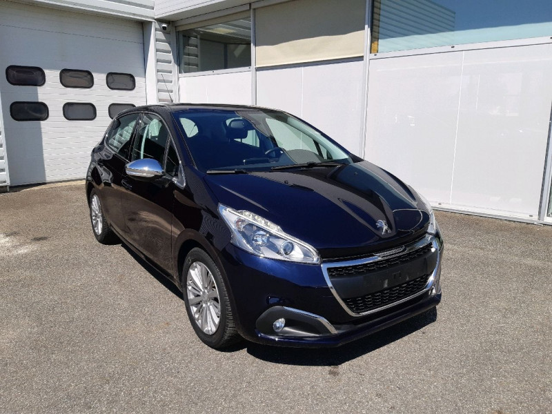 Peugeot 208 1.2 PURETECH 110CH ALLURE S&S EAT6 5CV 5P Essence DARK BLUE Occasion à vendre