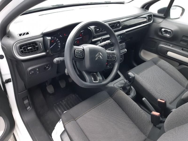 Photo 8 de l'offre de CITROEN C3 PURETECH 82CH FEEL S&S E6.D-TEMP à 10790€ chez Carlyss automobiles Vitré