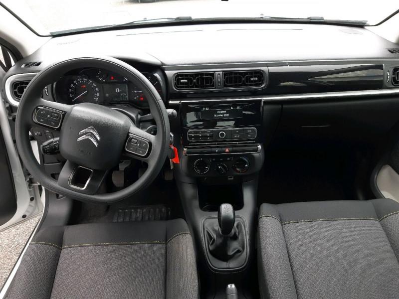 Photo 10 de l'offre de CITROEN C3 PURETECH 82CH FEEL S&S E6.D-TEMP à 10790€ chez Carlyss automobiles Vitré