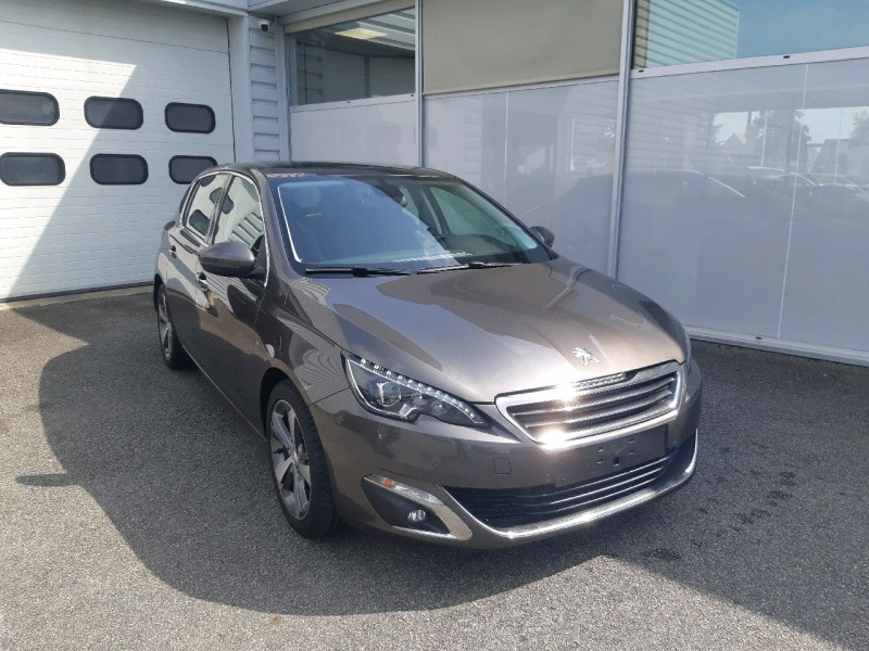 Peugeot 308 2.0 BLUEHDI 150CH ALLURE S&S 5P Diesel GRIS MOKA Occasion à vendre