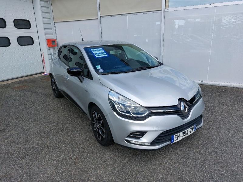 Renault CLIO IV 0.9 TCE 90CH ENERGY LIMITED 5P Essence GRIS C Occasion à vendre