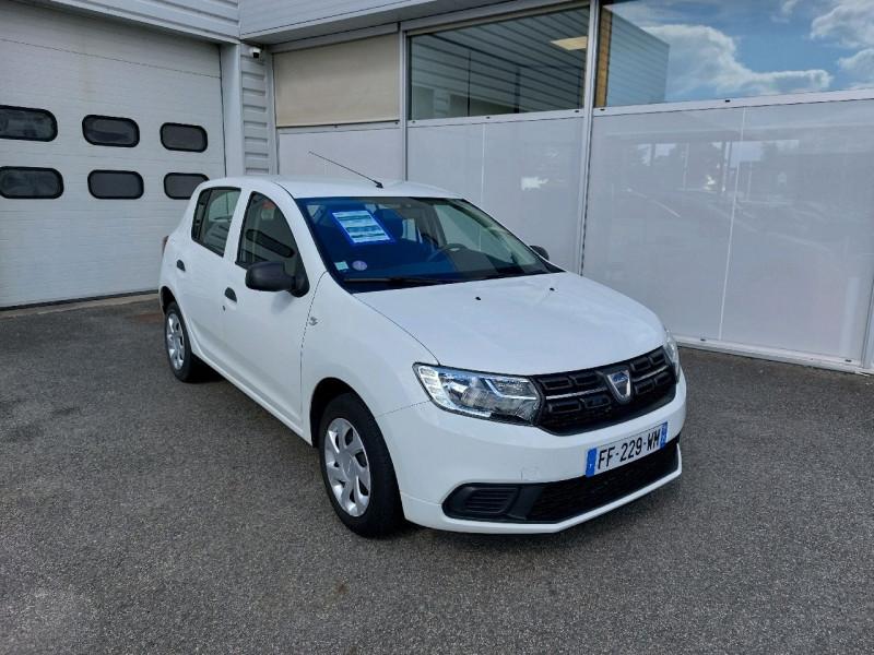Dacia SANDERO 1.0 SCE 75CH -18 Essence BLANC Occasion à vendre