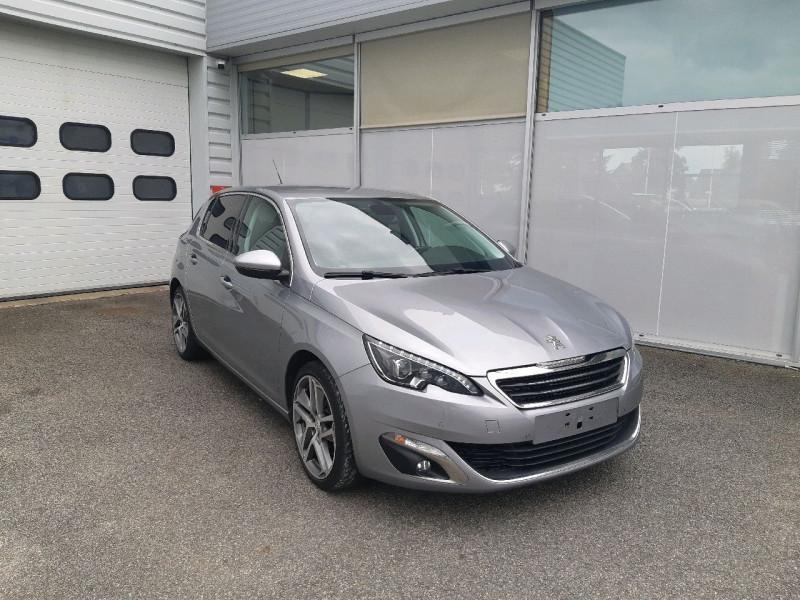 Peugeot 308 2.0 BLUEHDI FAP 150CH ALLURE EAT6 5P Diesel GRIS ARTENSE Occasion à vendre