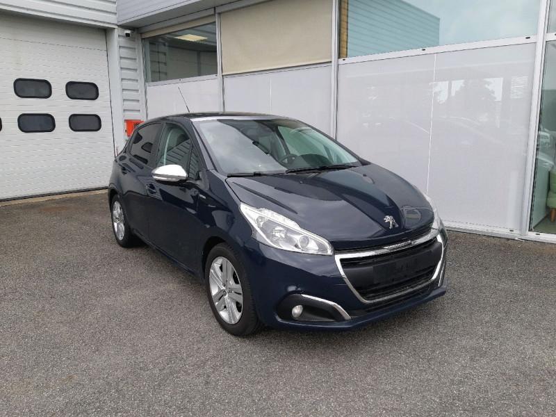 Peugeot 208 1.2 PURETECH 82CH STYLE 5P Essence GRIS HURRICANE Occasion à vendre