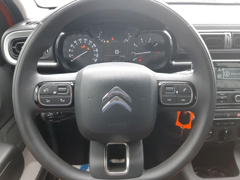 Photo 9 de l'offre de CITROEN C3 PURETECH 82CH FEEL à 10790€ chez Carlyss automobiles Vitré