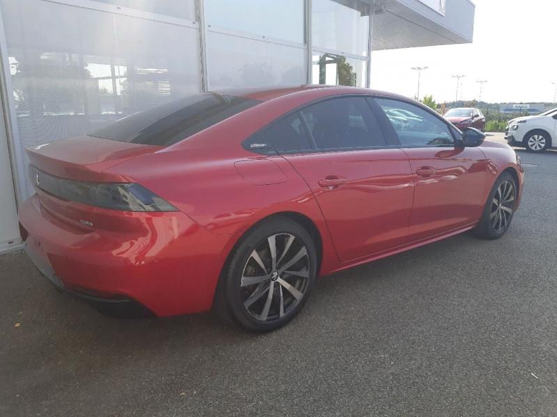Photo 4 de l'offre de PEUGEOT 508 BLUEHDI 160CH S&S GT LINE EAT8 à 22290€ chez Carlyss automobiles Vitré