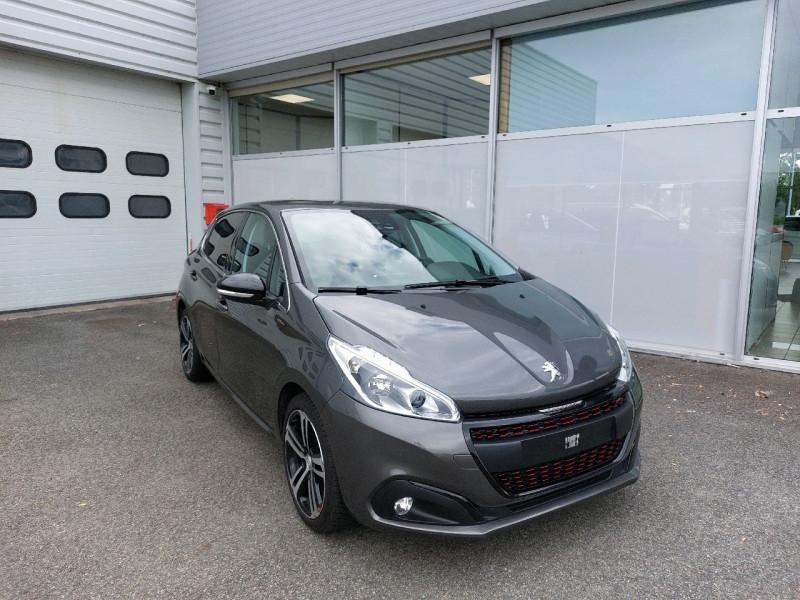 Peugeot 208 1.6 BLUEHDI 120CH GT LINE S&S 5P Diesel GRIS PLATINIUM Occasion à vendre