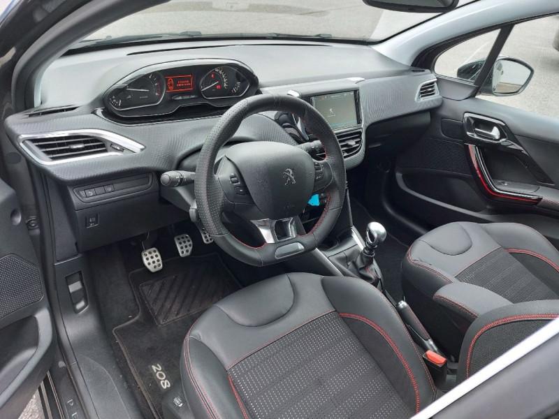 Photo 9 de l'offre de PEUGEOT 208 1.6 BLUEHDI 120CH GT LINE S&S 5P à 15990€ chez Carlyss automobiles Vitré