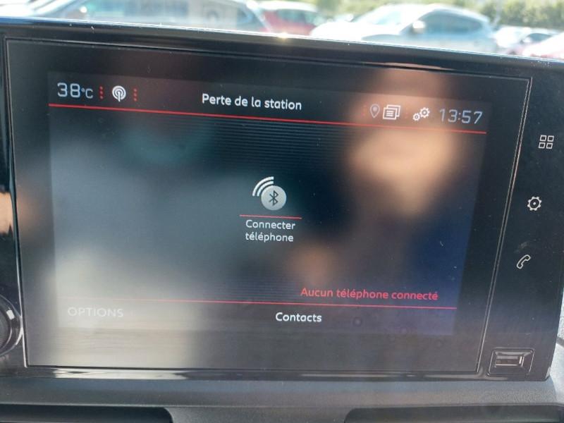Photo 12 de l'offre de PEUGEOT PARTNER LONG 950KG BLUEHDI 130CH S&S GRIP à 16490€ chez Carlyss automobiles Vitré