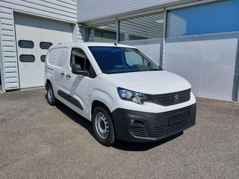 Peugeot PARTNER LONG 950KG BLUEHDI 130CH S&S GRIP Diesel BLANC Occasion à vendre