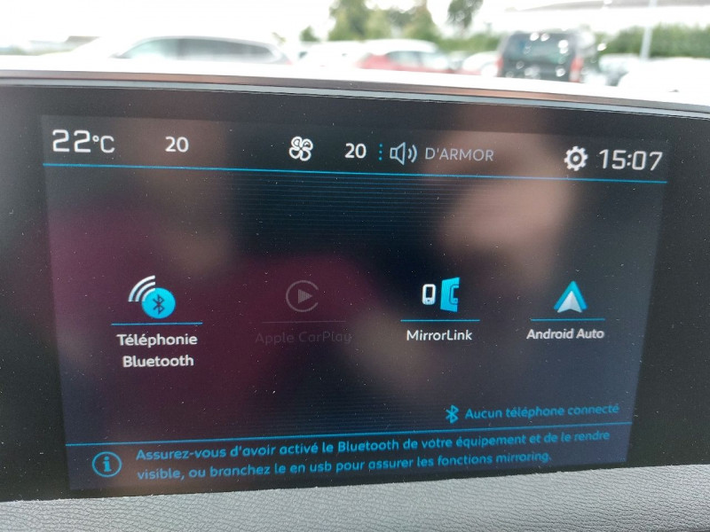 Photo 13 de l'offre de PEUGEOT 3008 1.5 BLUEHDI 130CH E6.C ALLURE S&S 7CV à 22490€ chez Carlyss automobiles Vitré