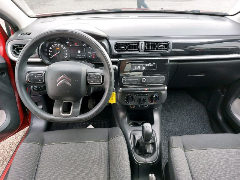 Photo 9 de l'offre de CITROEN C3 PURETECH 82CH FEEL à 10290€ chez Carlyss automobiles Vitré