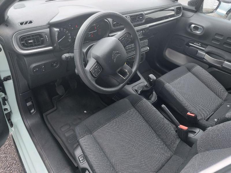 Photo 6 de l'offre de CITROEN C3 PURETECH 110CH FEEL S&S à 12990€ chez Carlyss automobiles Vitré