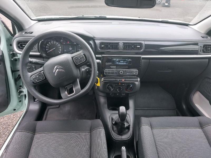 Photo 8 de l'offre de CITROEN C3 PURETECH 110CH FEEL S&S à 12990€ chez Carlyss automobiles Vitré