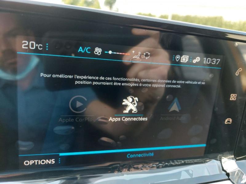 Photo 18 de l'offre de PEUGEOT 208 1.2 PURETECH 100CH S&S STYLE EAT8 à 21990€ chez Carlyss automobiles Vitré