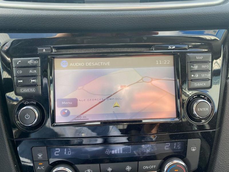 Photo 19 de l'offre de NISSAN QASHQAI 1.5 DCI 110CH CONNECT EDITION EURO6 à 12490€ chez Carlyss automobiles Vitré