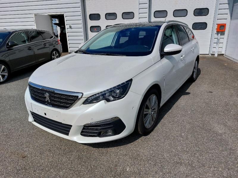 Photo 7 de l'offre de PEUGEOT 308 SW 1.6 BLUEHDI 120CH S&S ALLURE EAT6 à 13490€ chez Carlyss automobiles Vitré