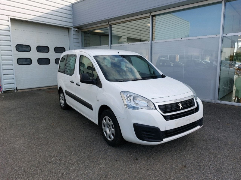 Peugeot PARTNER TEPEE 1.6 BLUEHDI 120CH ACTIVE Diesel BLANC Occasion à vendre