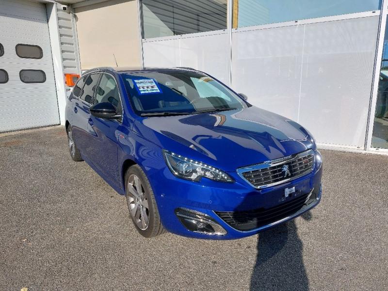 Peugeot 308 SW 2.0 BLUEHDI 150CH GT LINE S&S Diesel BLEU MAGNETIC Occasion à vendre