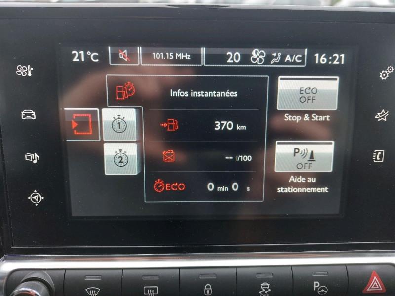 Photo 17 de l'offre de CITROEN C4 CACTUS BLUEHDI 100 SHINE à 11990€ chez Carlyss automobiles Vitré