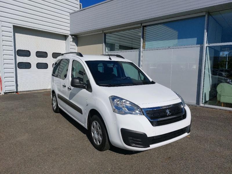Peugeot PARTNER TEPEE 1.6 BLUEHDI 100CH ACTIVE S&S ETG6 Diesel BLANC Occasion à vendre