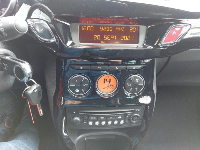 Photo 11 de l'offre de DS DS 3 BLUEHDI 100CH SO CHIC S&S à 10990€ chez Carlyss automobiles Vitré