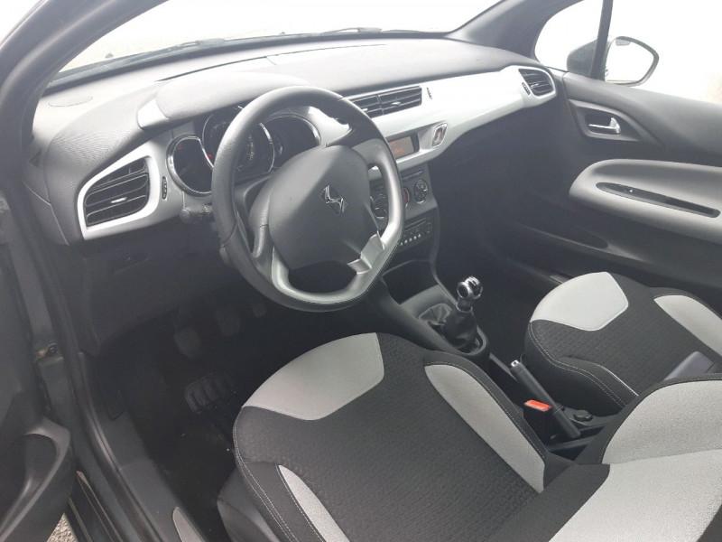 Photo 4 de l'offre de CITROEN DS3 1.2 VTI PURETECH SO CHIC à 8490€ chez Carlyss automobiles Vitré