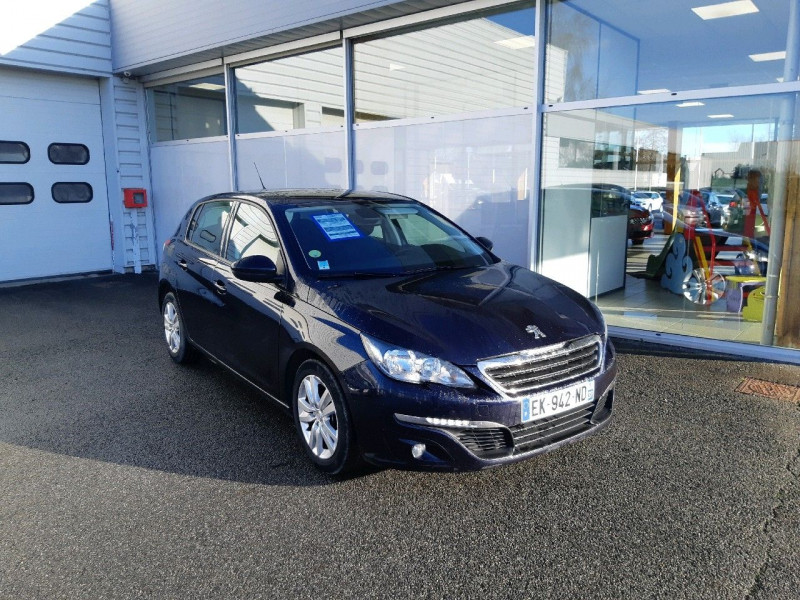 Peugeot 308 1.6 BLUEHDI 100CH ACTIVE BUSINESS S&S 5P Diesel DARK BLUE Occasion à vendre